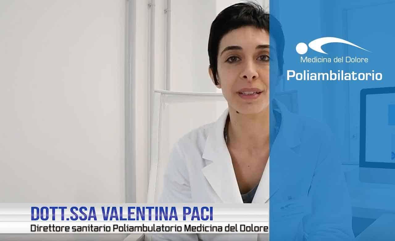 Dott.ssa Valentina Paci<br>Poliambulatorio Medicina del Dolore Rimini