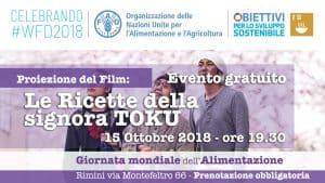 Le ricette della Signora Toku evento con FAO