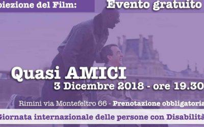 """Giornata internazionale delle persone con Disabilità: visione del film """"Quasi amici"""""""